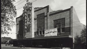 The Astor Theatre in its second week of existence.