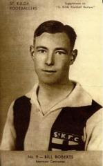 William Roberts, of the StKilda Football Club.